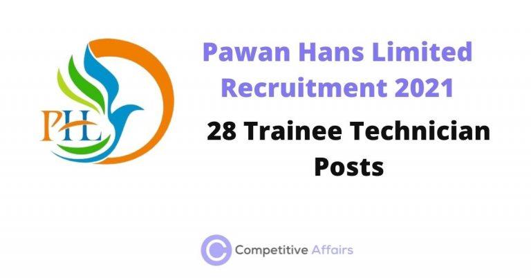 Pawan Hans Limited Recruitment 2021