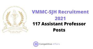 VMMC-SJH Recruitment 2021